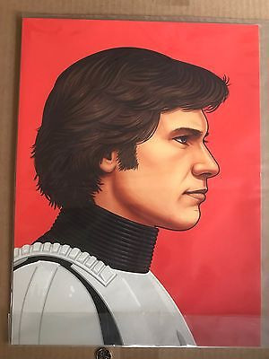 Star Wars Mike Mitchell Original Signed Limited Edition Print Han Solo