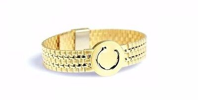 Bioflow Elite Gold Magnetic Therapy Bracelet Unisex Ladies Men Arthritis Caravan