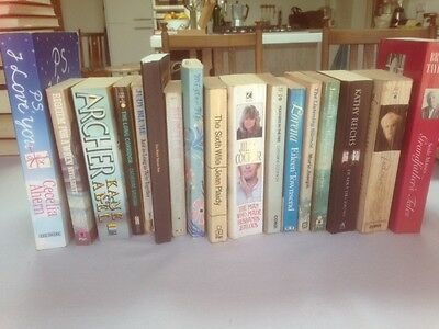 JOB LOT 17 x ASSORTED PAPERBACK NOVELS