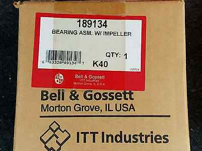 Bell & Gossett 189134 Bearing Assembly w/ Impeller-NEW