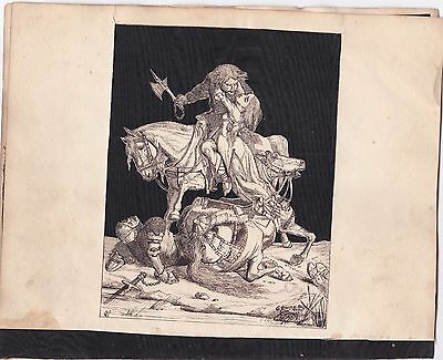 Original 19th Century Ink Drawing