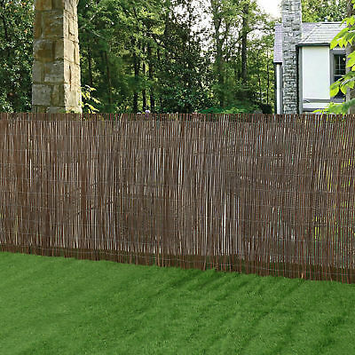 [casa.pro] Willow Mat Protection Mat Screening Fence Willow Fence 150x500cm