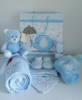Baby Boy Gift Hamper Gift Bag With Baby Essentials New