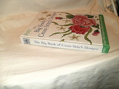 The Big Book Of Cross-Stitch Designs Needlepoint Book - New - 900 Designs