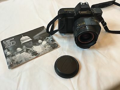 Canon T80 Camera w/ Canon Zoom AC 35-70mm 1:3.5-4.5 Japan Lens