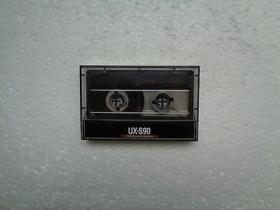Vintage Audio Cassette SONY UX-S 90 From 1988 - Excellent Condition !