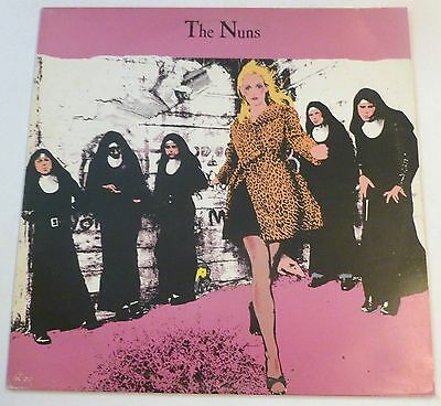 The Nuns - The Nuns     UK VINYL LP