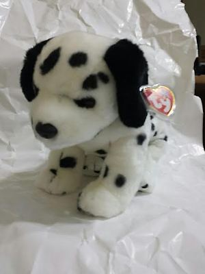 Ty Beanie Buddies Dotty Dalmation Dog 1999