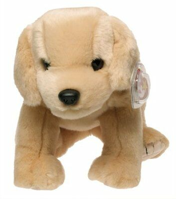 Ty Beanie Buddies Fetch Golden Retriever Dog 1999