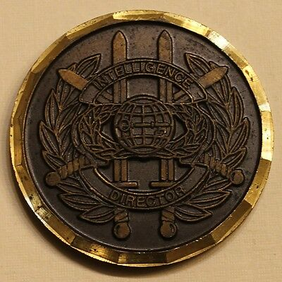 European Command Intelligence Director J2 Joint Chiefs Military Challenge Coin