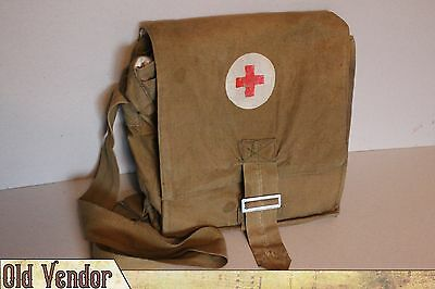 Soviet Russian Army Medic Bag Pouch Red Cross USSR Military Medical Service