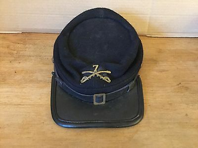 American civil war 7th Cavalry kepi large size repro
