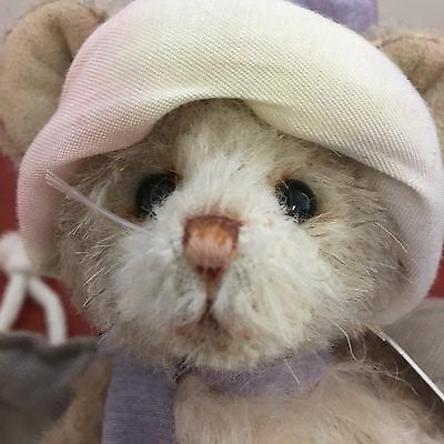 """Charlie Bears Sugar Mouse 6.5"""" Mohair Mouse Limited Edition  By Isabelle Lee"""