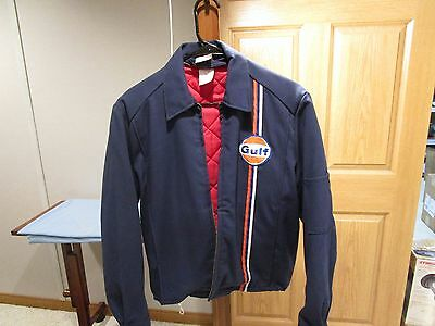 Gulf Oil Service Station Jacket Small Vintage