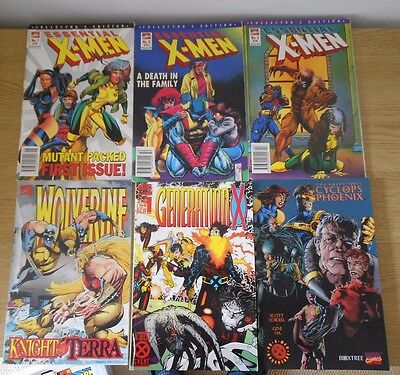 X-Men Graphic Novel / Comic Bundle X 6