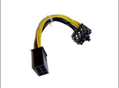 6pin to 8pin PCI Express  Power Adapter Cable  13cm