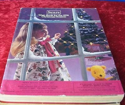 Vintage 1974 Sears Roebuck & Company Christmas Wishbook Catalog