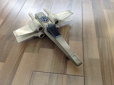 Star Wars X-Wing Fighter With Canopy From The 1990's Spares Or Repair