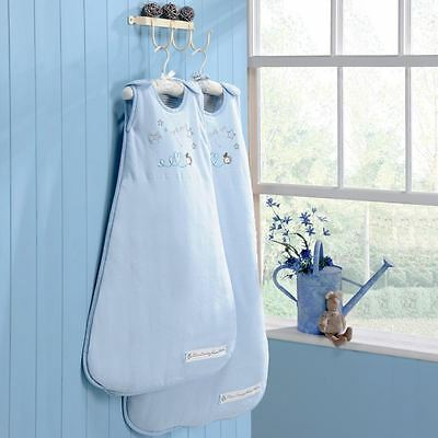Country Kisses Sleeping Baby Bag 1 Tog 0-6 Months In Blue