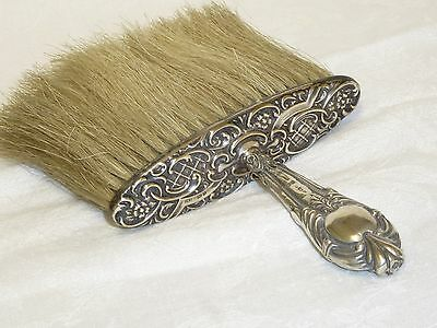 Antique Edwardian Sterling Silver Hat Brush Birmingham 1903