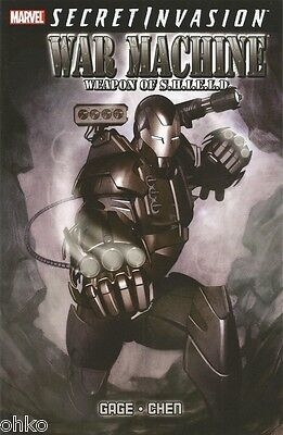 Marvel - Secret Invasion War Machine Weapon Of Shield - Paperback Tpb Brand New