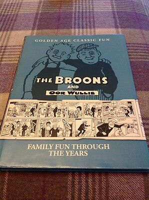 The Broons And Oor Wullie Book