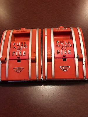 Edwards Fire Alarm Pull Station Non Coded 270-DPO Edwards