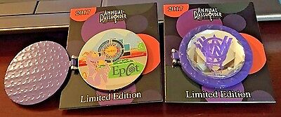 Disney Pin 2017 Annual Passholder Exclusive Figment EPCOT