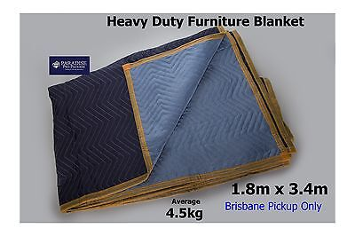 10 X Furniture Moving Storage Removalist Blanket/Pad Heavy-Duty Woven 3.4 x 1.8