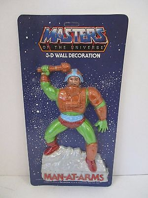 "New-Vintage Masters Of The Universe ""man-At-Arms"" 3D Wall Decoration"