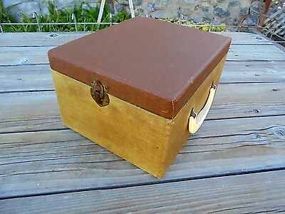 Vintage Slide Tray Carrying Case For Argus Or Airequipt Magazines