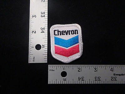 patch,iron on,fun,funny,old,rare,vintage,antique,cool,chevron,gas station,gas
