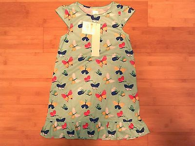 NWT Gymboree Girls Size S 5 - 6 Spring Butterfly Nightgown Gymmies Pajamas NEW