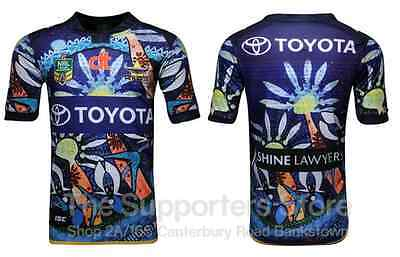 North Queensland Cowboys NRL ISC Indigenous Jersey Sizes S-3XL!6