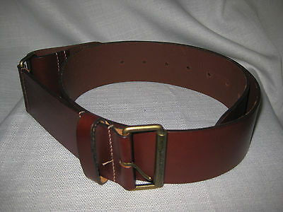 Authentic Burberry Women's Leather Belt sz 4 made in England