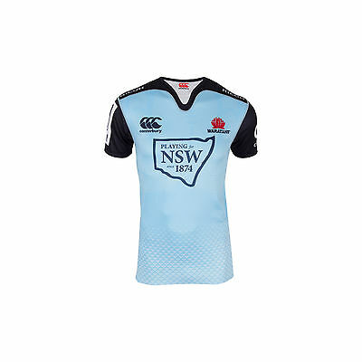 NSW Waratahs CCC 2016 Super Rugby Union Home Jersey Sizes S-4XL!