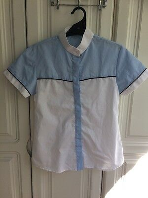 Ladies Size 8 Riding Shirt. Ratcatcher Collar.