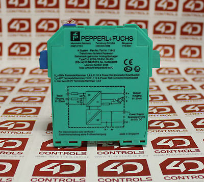 Pepperl and Fuchs KFD2-CR-Ex1 POWER SUPPLY TRANSMITTER - new-no-box