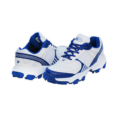 Gowin T-20 White,Blue Cricket Shoe Free Shipping Court Best Shoes