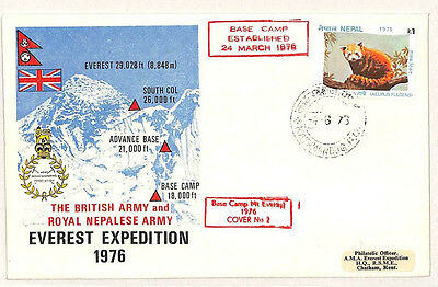 W153 1976 NEPAL British Army Everest Expedition MOUNTAINEERING {samwells-covers}