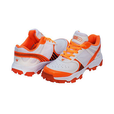 Gowin T-20 White,Orange Cricket Shoe Free Shipping Court Best Shoes