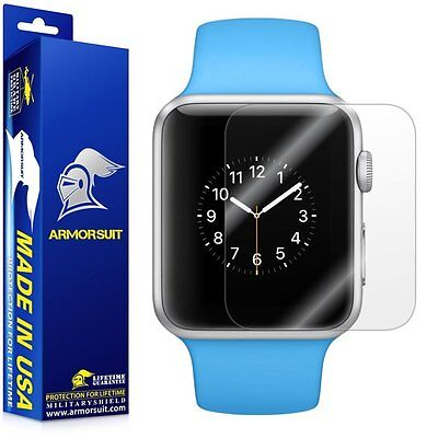 Apple Watch Full Coverage Anti-Bubble Clear Screen Protector iWatch 38mm -2 Pack