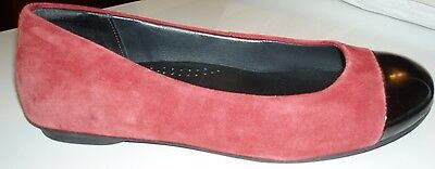 Ziera  Womens Ballet Flats Suitable For Orthotics Size 37W-6