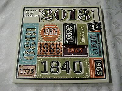 2013  Royal Mail  Yearbook  Year Book 30 Stamps