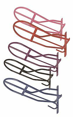 Shires Horse Riding Equestrian Strong Steel Traditionally Shaped Saddle Rack