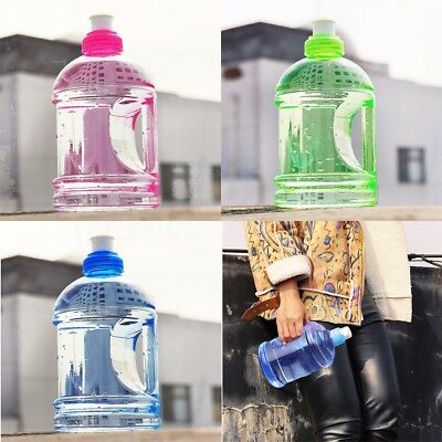 500 / 1000ml 1L Outdoor Running Water Bottle BPA Free Gym Cycling Travel Camping