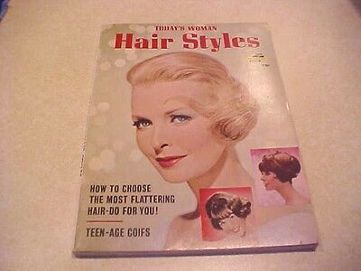 1965 Today's Woman Hair Styles Magazine A Fawcett Book 596