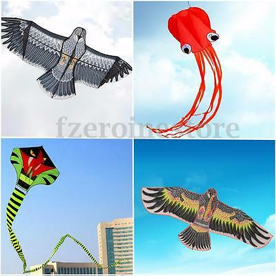 1.6m-15m Huge Outdoor Fun Sport Kite Easy to Fly Animal Kites Childrens Toy New