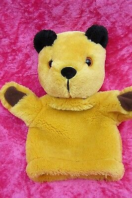 Sooty & Sweep Show ~ SOOTY ~ Hand Puppet Soft Plush Toy by Golden Bear 2014