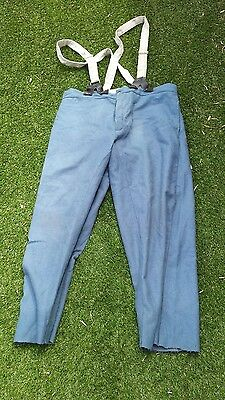 american civil war /indian wars cavalry trousers blue repro size42